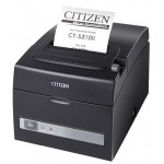 Imprimanta bonuri Citizen CT-S310 II, USB, LAN, cutter