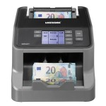 Masina de numarat si autentificat bancnote Ratiotec Rapidcount S200, RON, EUR