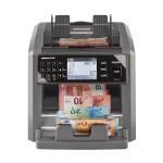 Masina de numarat si autentificat bancnote Ratiotec Rapidcount X400, RON, EUR, USD, GBP, CHF