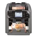 Masina de numarat si autentificat bancnote Ratiotec Rapidcount X500, RON, EUR, USD, GBP, CHF