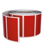 Rola de etichete SGP 30x15mm, rosii, 3000 et./rola