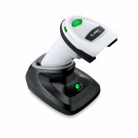 Cititor coduri de bare 2D Zebra DS2278, Bluetooth, USB, cradle, alb