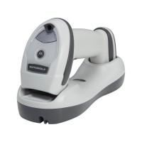 Cititor coduri de bare 1D Zebra LI4278, Bluetooth, USB, cradle prezentare, alb