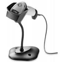 Cititor coduri de bare 2D Zebra DS2208, USB, stand, alb