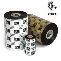 Ribon Zebra 2100 110mm x 450m, negru, OUT