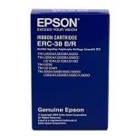 Ribon Epson ERC-38B/R, negru/rosu
