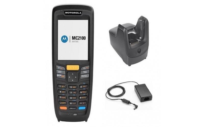 Terminal portabil 1D Zebra MC2180, imager liniar, SR, Windows CE 6, 128 MB RAM, 27 taste, kit